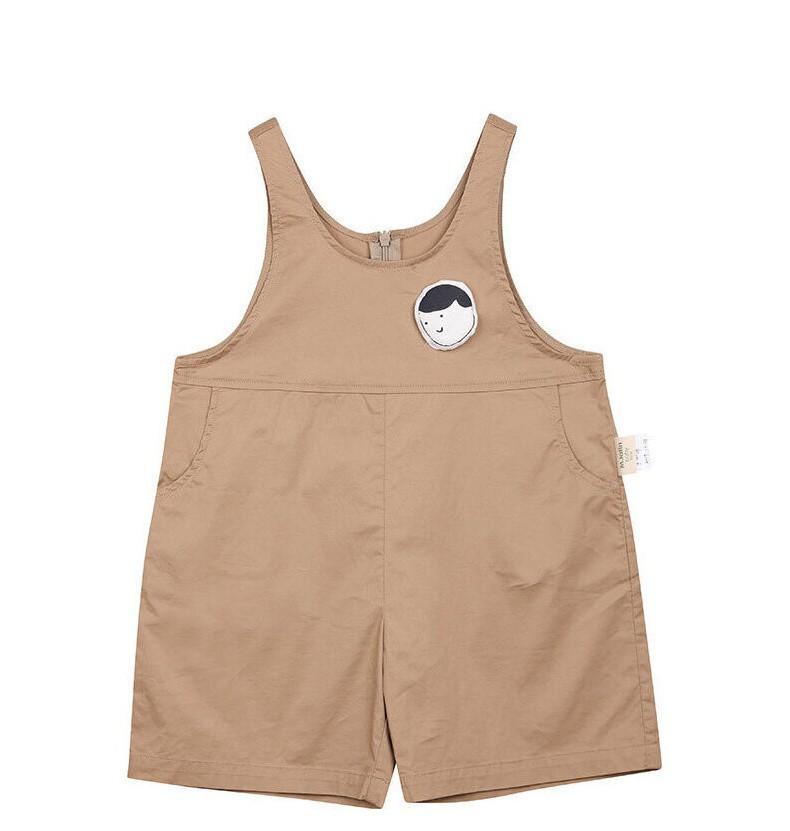 2020夏装新款设计版型可爱百搭连体裤背