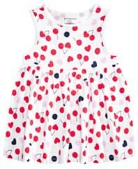 女孩樱桃心束腰外衣,为梅西百货公司设计