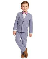 CK幼童4件套蓝色Dobby套装